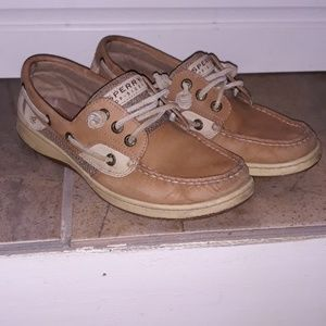 Sperry Top Sider Boat Shoes Size 7 Slip On